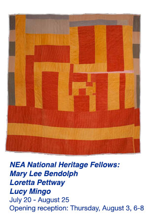 NEA Fellows: Mary Lee Bendolph, Loretta Pettway, and Lucy Mingo