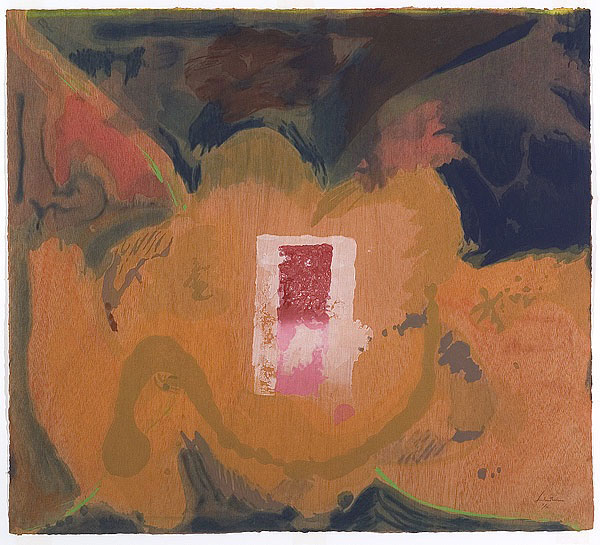 helen frankenthaler paper is painting