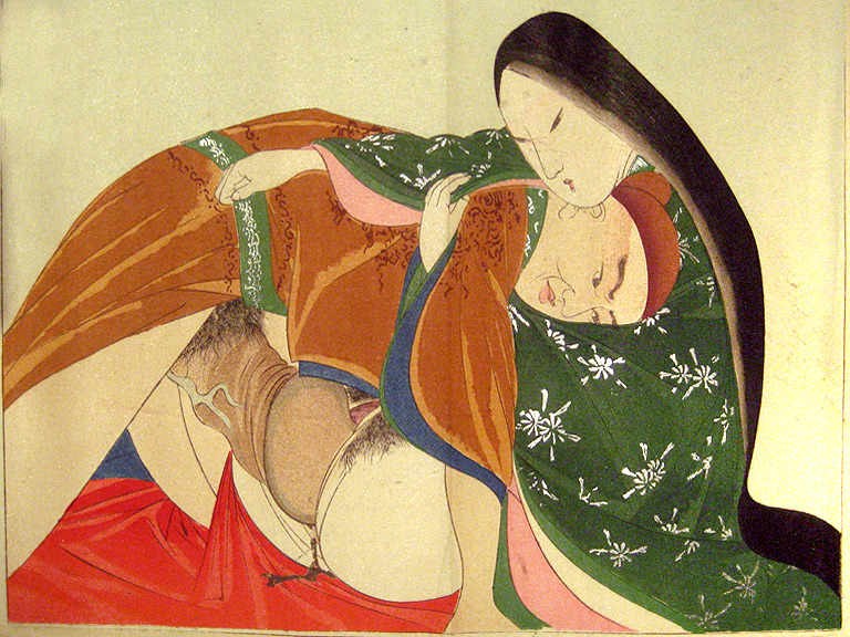 Historical japanese erotic art — photo 8